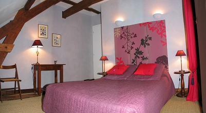 chambres d 39 h tes azay le rideau la petite loge chambres. Black Bedroom Furniture Sets. Home Design Ideas